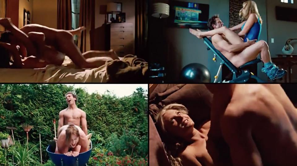 7 escenes de sexe gracioses de pel·lícules per a riure i alhora posar-te calent