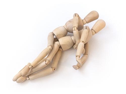postura de la cucharita para sexo anal