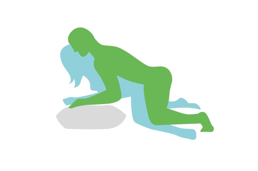 posición ideal para penetración con un pene pequeño