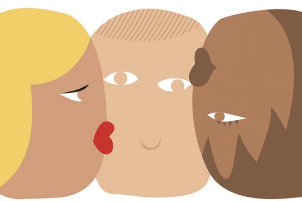 Qué es un trío sexual y cuántas variedades existen